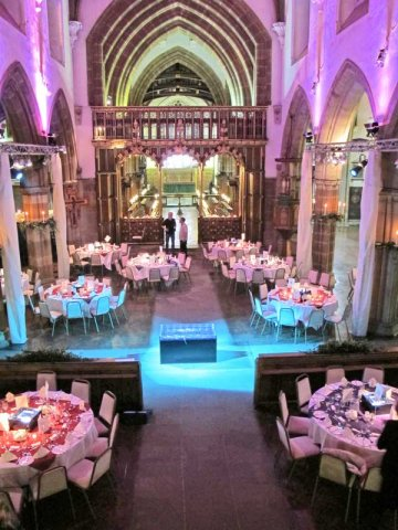 Gala Dinner at Leicester Cathedral