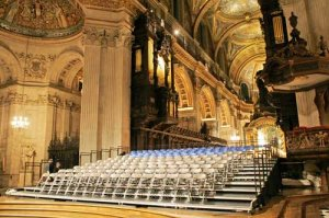 The Bach Choir at St Pauls Cathedral